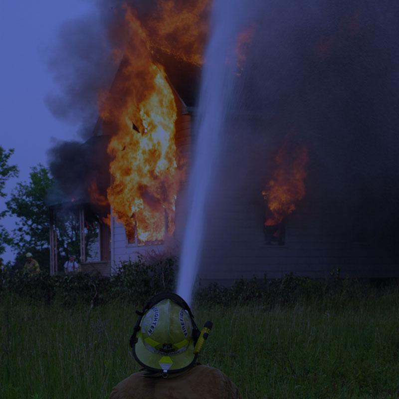 Fire Devastation